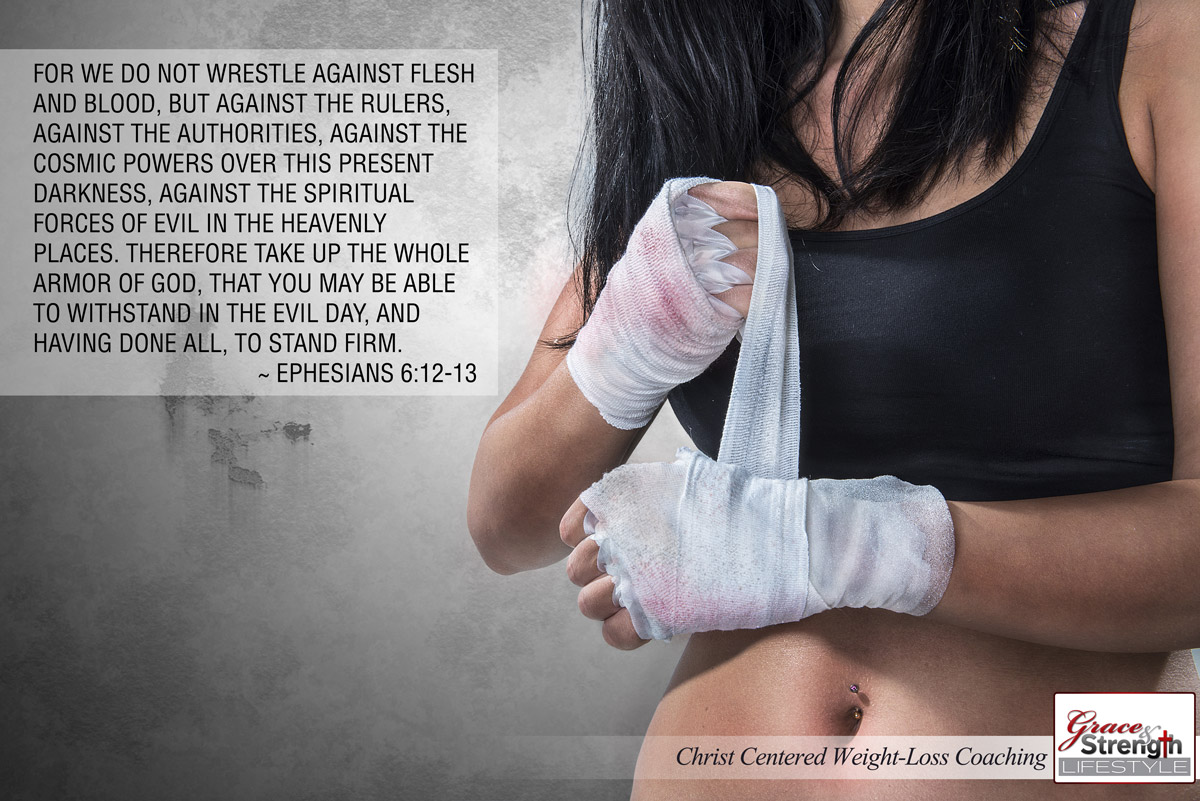 For We Do Not Wrestle Against Flesh and Blood...